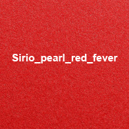 Sirio pearl red fever